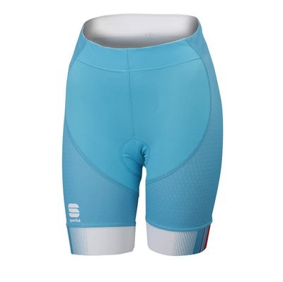 SPORTFUL Gruppetto Pro Lady Short Turquoise Pink Coral