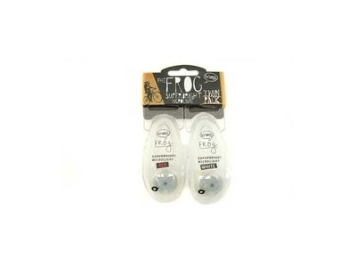 FROG TWINPACK voor/achter 1LED TRANSPARANT