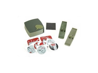KNOG P Patch Bandenplak Set Olive