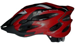 Helm mod 027 Red