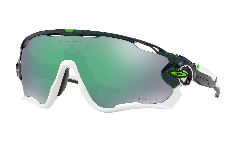 4a59e50c83209d Oakley jawbreaker Cavendish fietsbril metallic groen - prizm jade lens