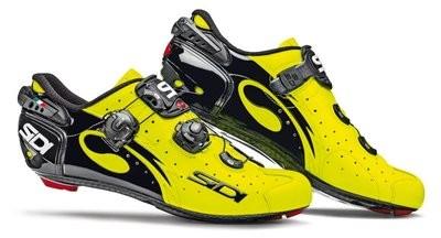 SIDI Wire Carbon Vernice Yellow Fluo Race Fietsschoen