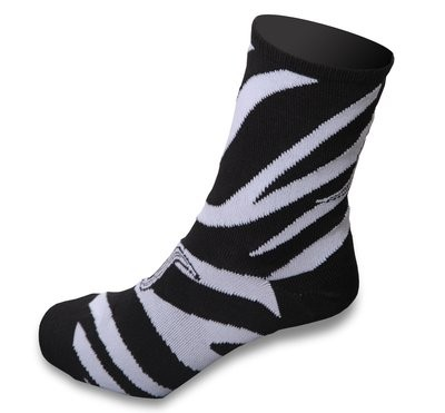 Shebeest Zebra Lady Sok Black White