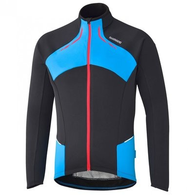 SHIMANO Thermal Winter Jersey LS Black