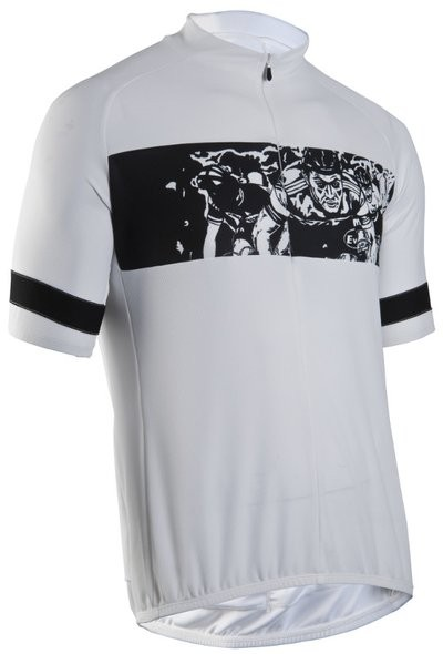 SUGOI Print Jersey Riders White