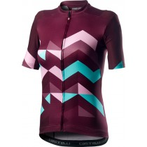 Castelli Unlimited W Jersey - Sangria