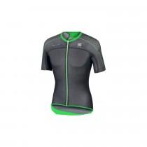 SPORTFUL Bodyfit Ultralight Jersey SS Black Green Fluo