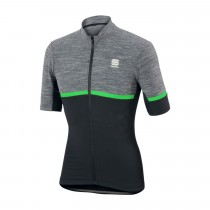 SPORTFUL Giara Jersey SS Anthra Black Green