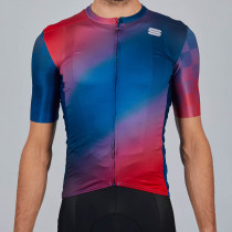 Sportful Rocket Jersey - Blue Red