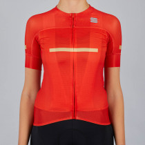 Sportful Evo W Jersey - Red Fire
