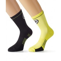 ASSOS Equipe Evo 7 Sock Volt Yellow Black