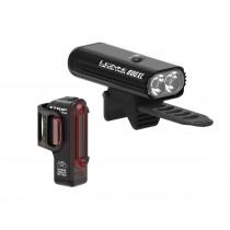 Lezyne micro pro 800XL en strip drive verlichtingsset zwart