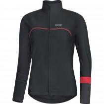 Gore C5 thermo dames fietsshirt met lange mouwen zwart terra grijs