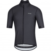 Gore C5 gore-tex infinium fietsshirt met korte mouwen zwart