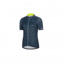 Gore C3 dames fietsshirt met korte mouwen deep water blauw cobalt blauw (100456)