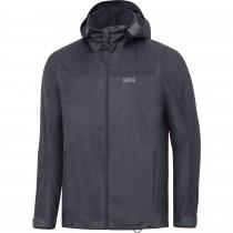Gore R3 GTX Active Hooded Jacket - terra grey/black
