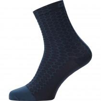 Gore C3 Cancellara Mid Socks - orbit blue