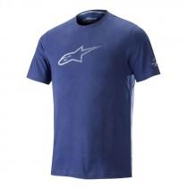 Alpinestars ageless V2 tech fietsshirt met korte mouwen mid blauw