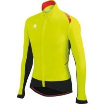 SPORTFUL Fiandre Light Wind Jersey Yellow Fluo