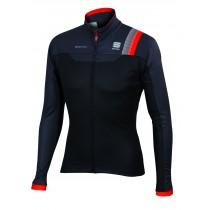SPORTFUL Bodyfit Pro WS Jacket Black Anthra Fire Red