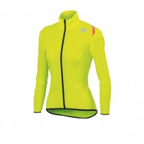 Sportful hot pack 6 w dames windjack fluo geel