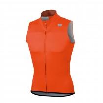 Sportful bodyfit pro ws windvest oranje sdr zwart