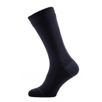 SEALSKINZ Road Thin Mid Sock With Hydrostop Black Anthra