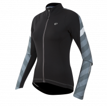 Pearl izumi elite pursuit thermal dames fietsshirt lange mouwen zwart