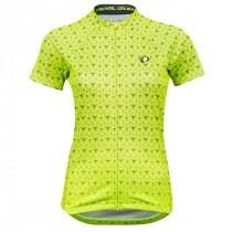 Pearl Izumi Dames Shirt Select Graphic S Yellow/Turb. Deco