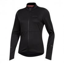 Pearl Izumi quest thermal dames fietsshirt met lange mouwen zwart
