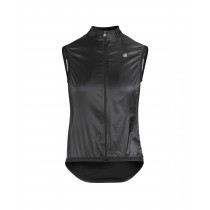 Assos uma gt dames windvest blackseries zwart