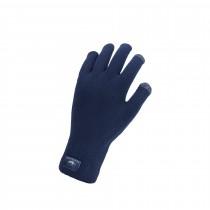 Sealskinz waterproof all weather ultra grip knitted fietshandschoen zwart