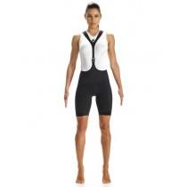 Assos T.laalalai s7 dames korte fietsbroek met bretels zwart