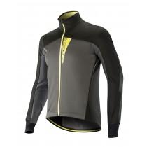 Alpinestars cruise shell fietsjack dark shadow zwart acid geel