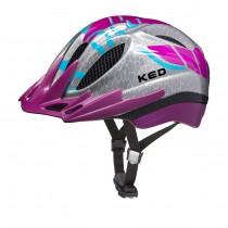 KED meggy k-star kinder fietshelm violet