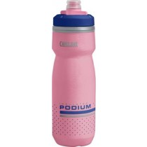 Camelbak podium chill geïsoleerde bidon 600ml roze ultramarine