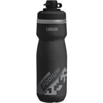Camelbak podium chill dirt series geïsoleerde bidon 600ml zwart