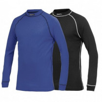CRAFT Active Shirt LM Multi 2-Pack Black Atlantic