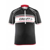 CRAFT JB Logo Kids Jersey SS Black