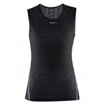 Craft cool mesh superlight dames ondershirt zonder mouwen zwart