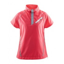 CRAFT Brilliant Running Lady Windbreaker SS Pink