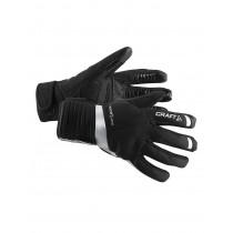 Craft shield fietshandschoen zwart