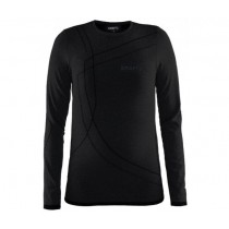 CRAFT active comfort rn junior shirt lange mouwen black solid