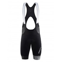 CRAFT Verve Glow Bibshort Black Reflective