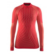 Craft active intensity CN dames ondershirt lange mouwen roze