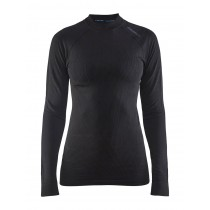 Craft active intensity CN dames ondershirt lange mouwen zwart