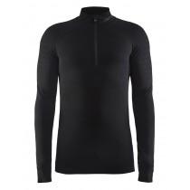 Craft active intensity zip ondershirt lange mouwen zwart