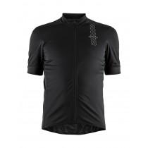 Craft rise fietsshirt met korte mouwen zwart