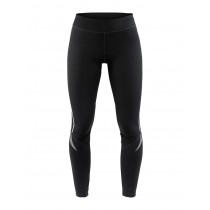 Craft ideal thermal dames lange fietsbroek zwart