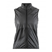 Craft glow dames vest zwart